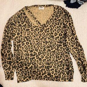 LNA cheetah sweater